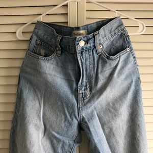 Madewell Jeans - Madewell High-Rise The Perfect Summer Jean